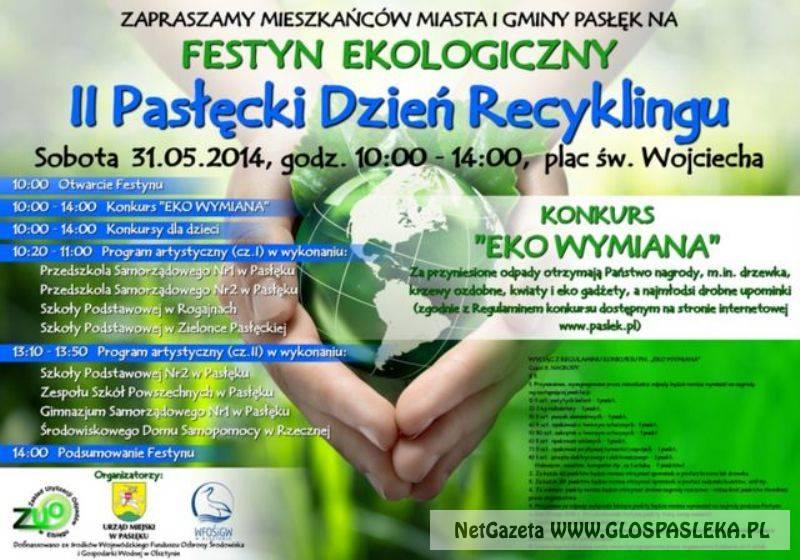 II Pasłęcki Dzień Recyklingu