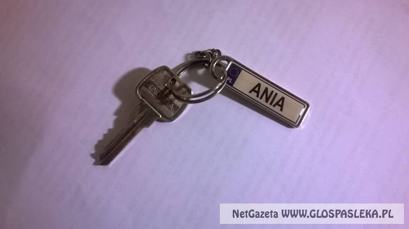 Znaleziono klucz