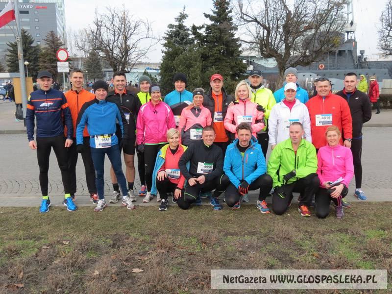 Pasłęczanie biegali w Gdyni
