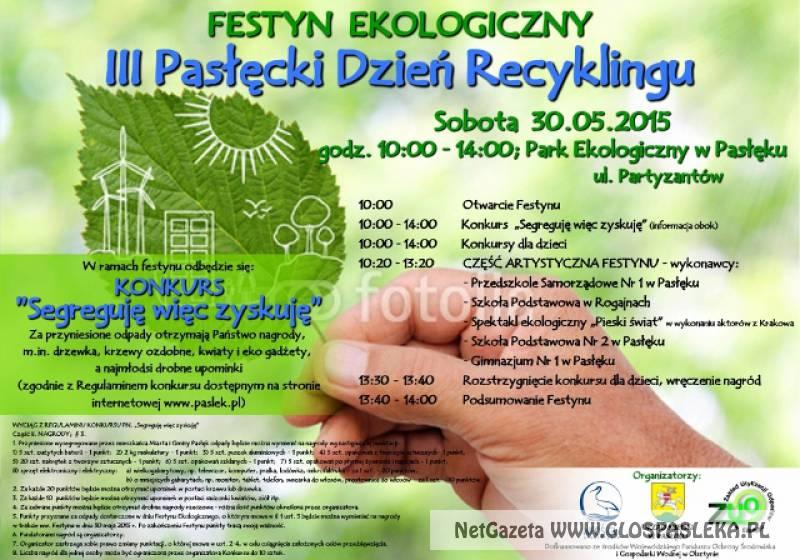 Festyn ekologiczny  i Dni Rodziny już jutro