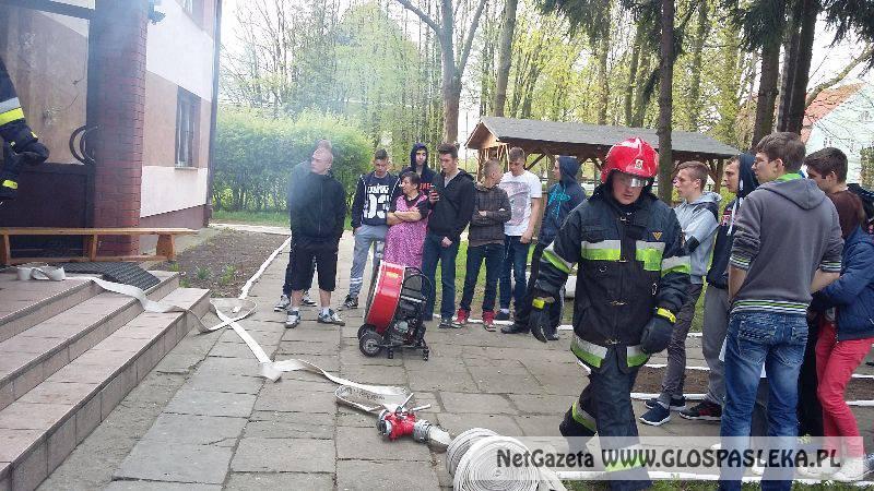 Ćwiczyli na wypadek pożaru