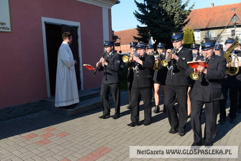 Msza w intencji strażaków i ich rodzin