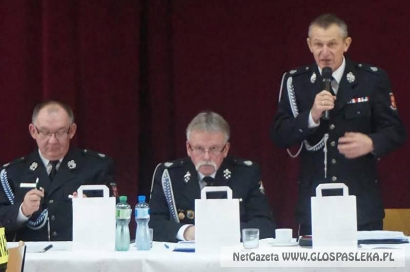 Nowe władze w powiatowym związku OSP