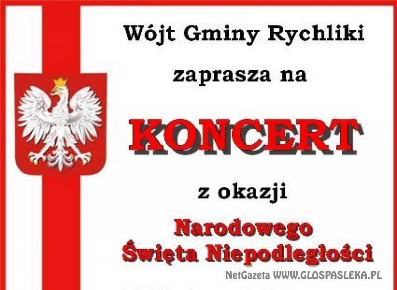 Zaproszenie na koncert do Rychlik