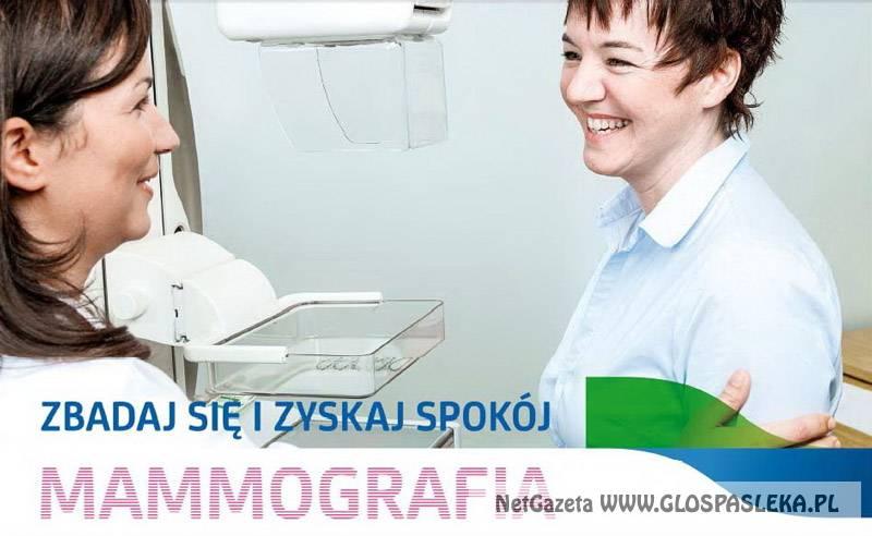 Zrób mammografię na Dzień Kobiet