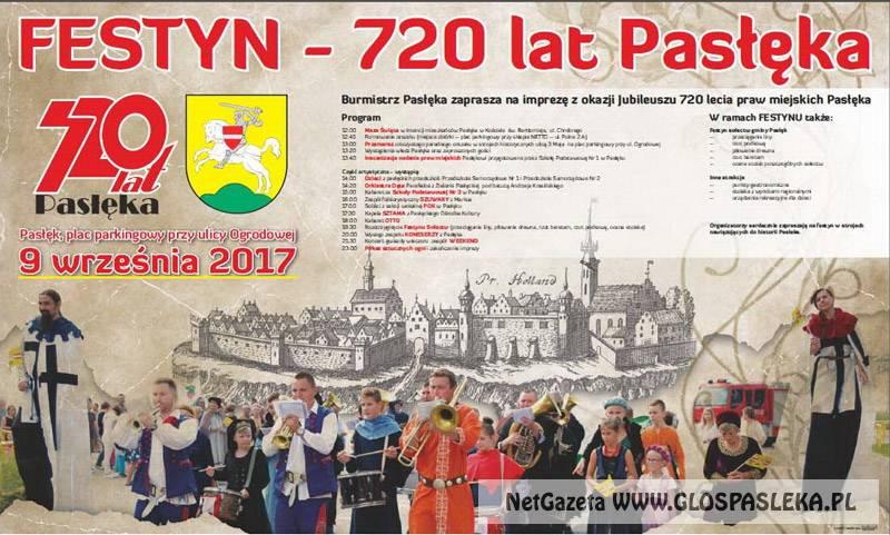 Zaproszenie na festyn z okazji 720 – lecia
