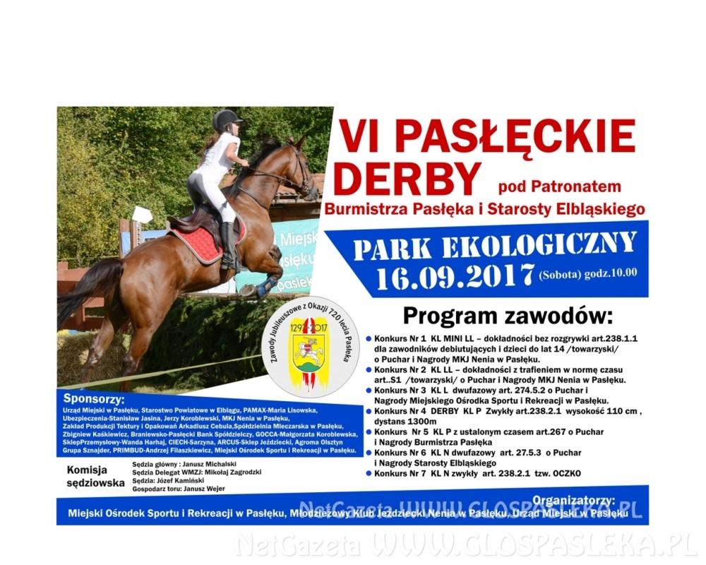 Zaproszenie na zawody jeździeckie…