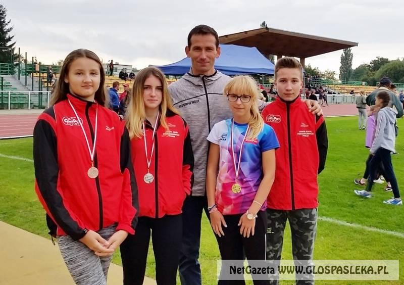 Medale mistrzostw województwa w lekkiej atletyce