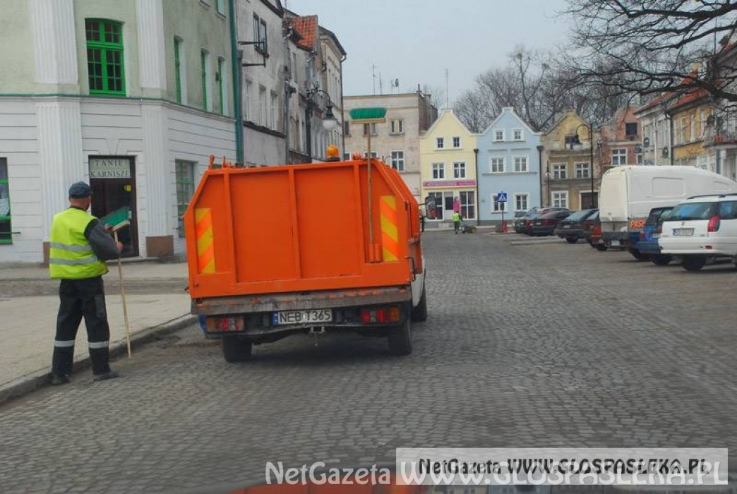 Odbiór odpadów wielkogabarytowych z terenu miasta