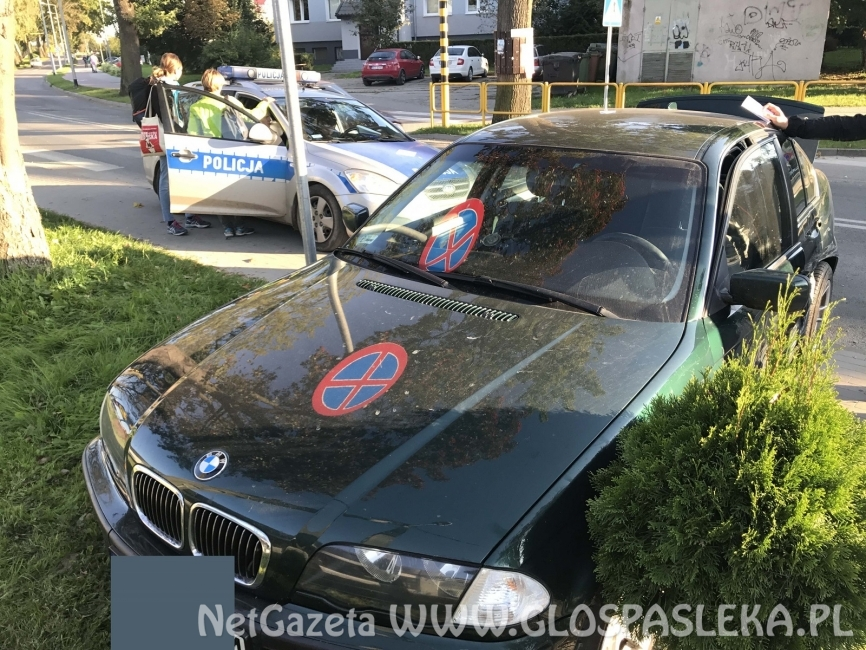 Kolizja BMW i VW Polo