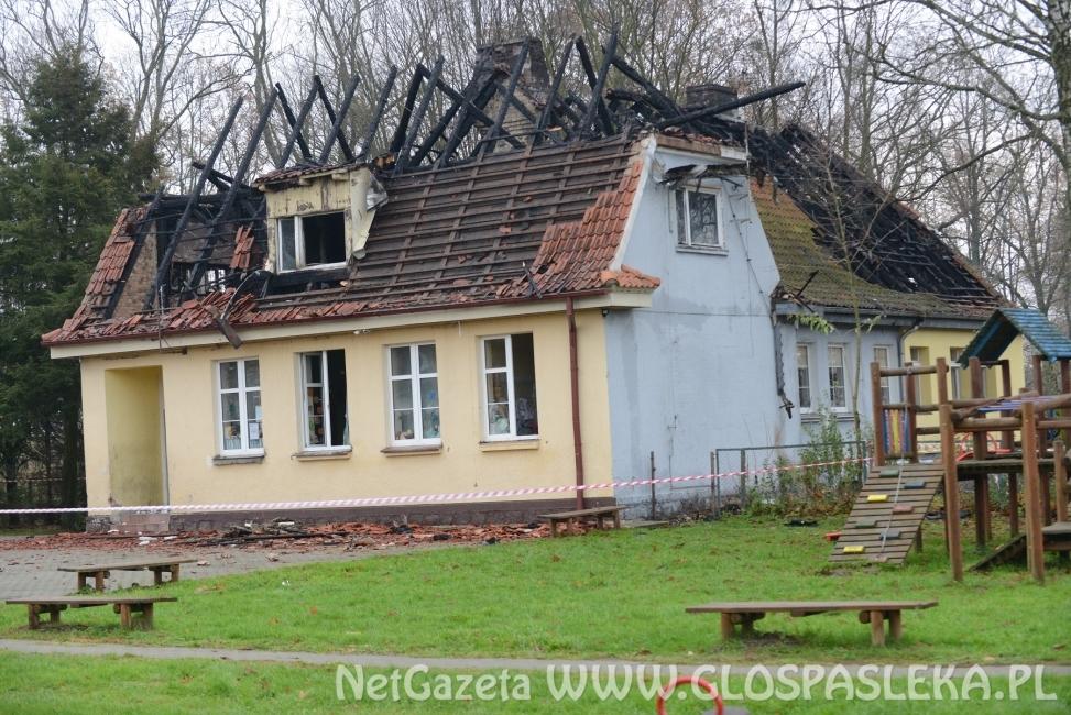 Przetarg na odbudowę budynku w Drulitach