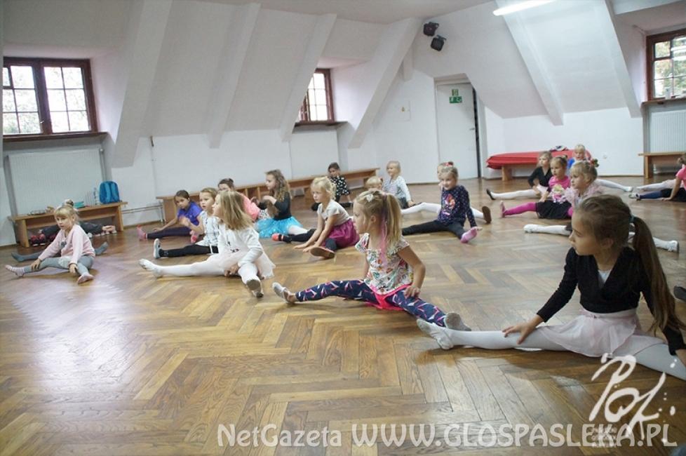 Pierwsze zajęcia baletu klasycznego