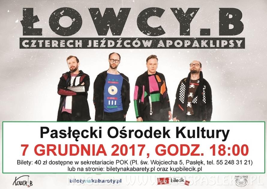 Kabaret Łowcy. B w Pasłęku