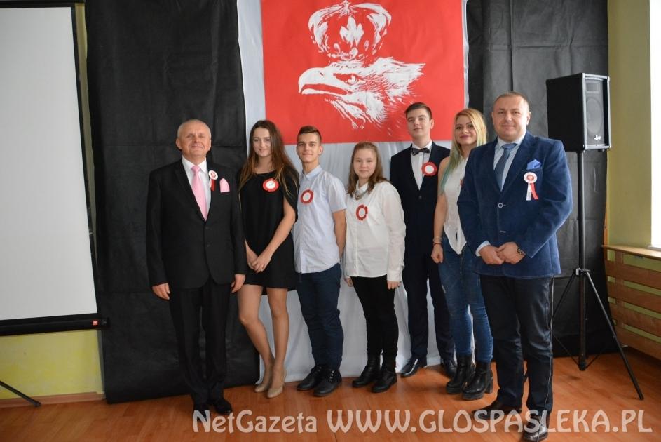 Święto niepodległości w Szkole Podstawowej nr 1 w Pasłęku