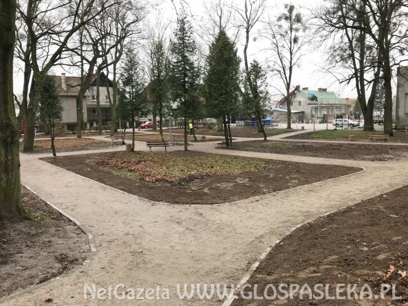 Renowacja parku na finiszu