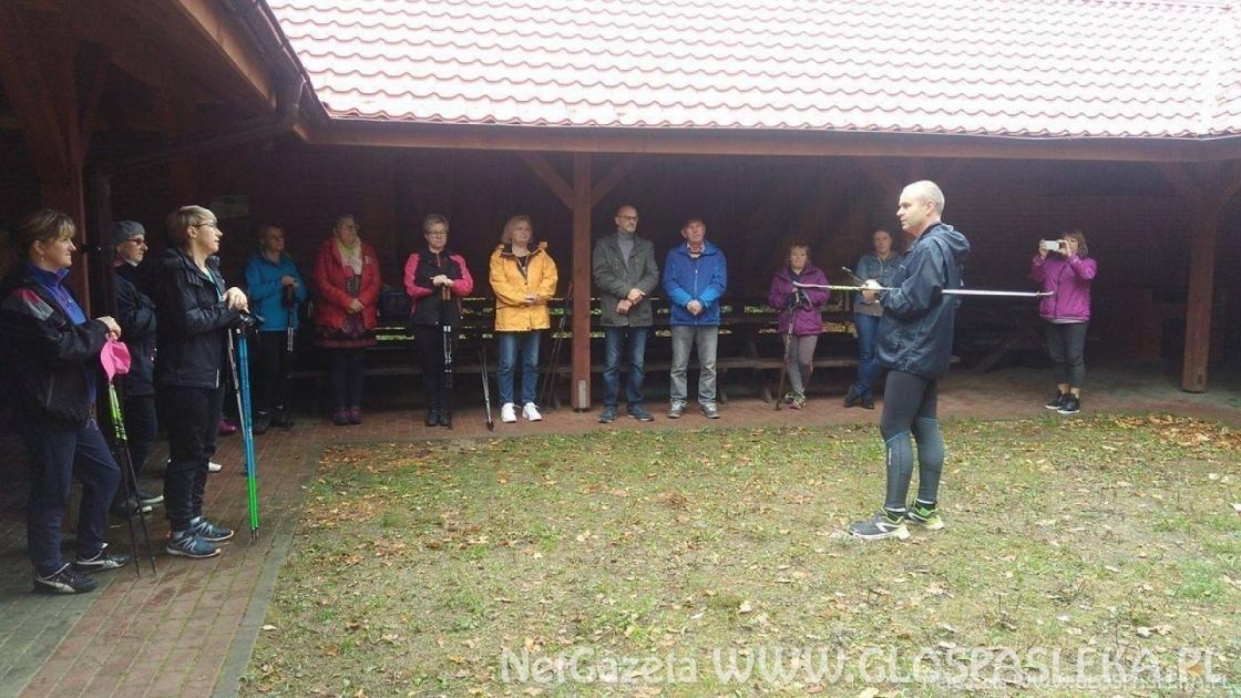 V Miłomłyński Bieg Mikołajkowy, Mikołajkowy Marsz Nordic Walking