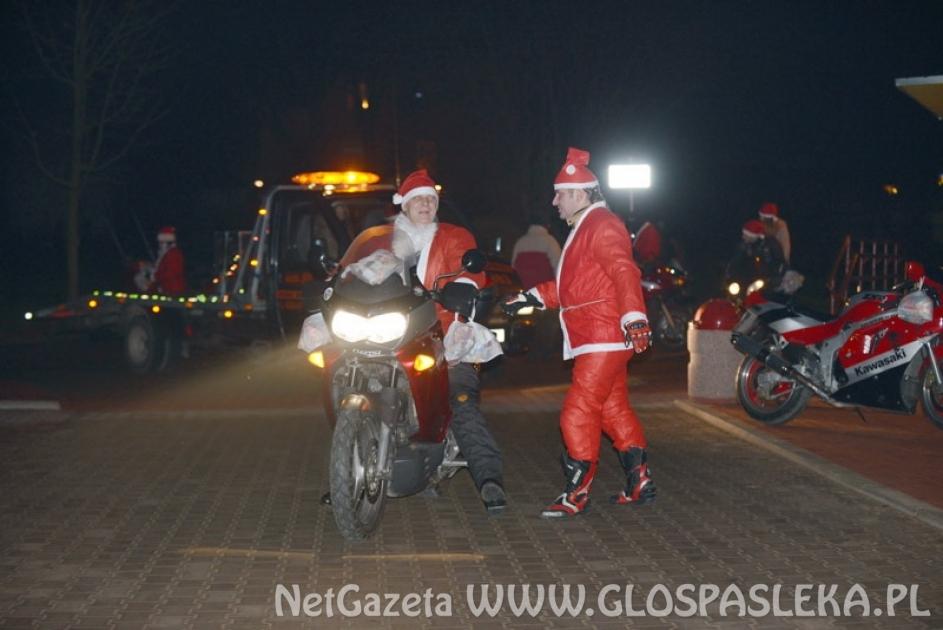 Uwaga – Mikołaje na motocyklach