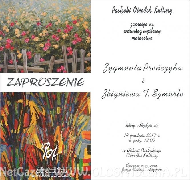 Wystawa malarstwa Z. Prończyka i Z. Szmurło