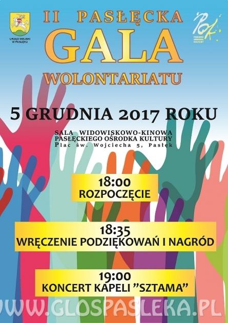 II Pasłęcka Gala Wolontariatu