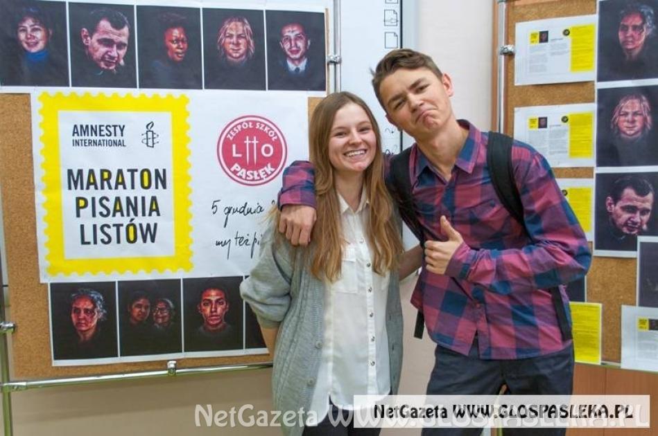 W piątek ruszy Maraton Pisania Listów Amnesty International