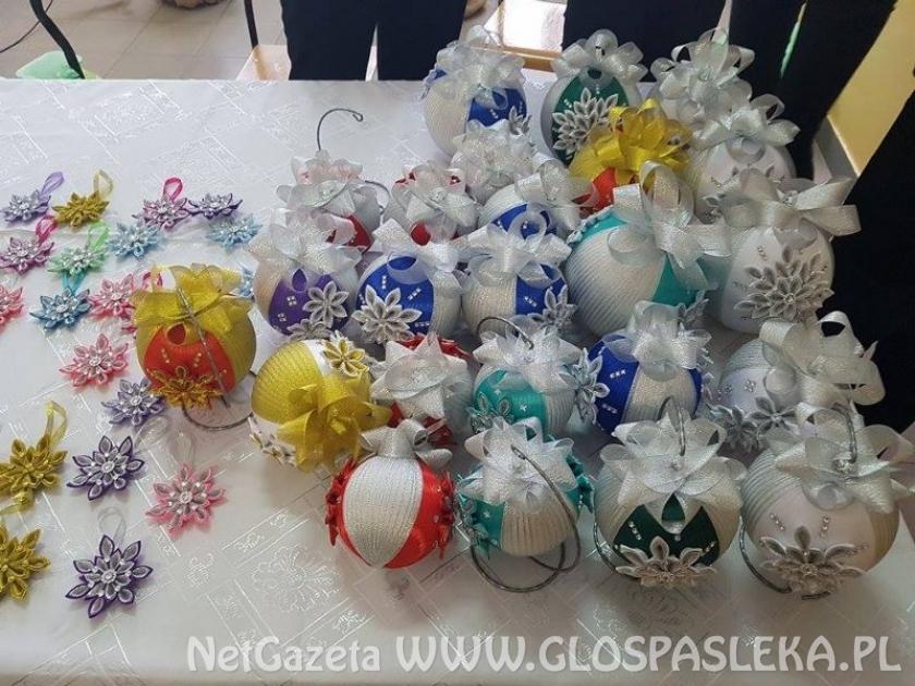 Kiermasz ozdób świątecznych w Zespole Szkół