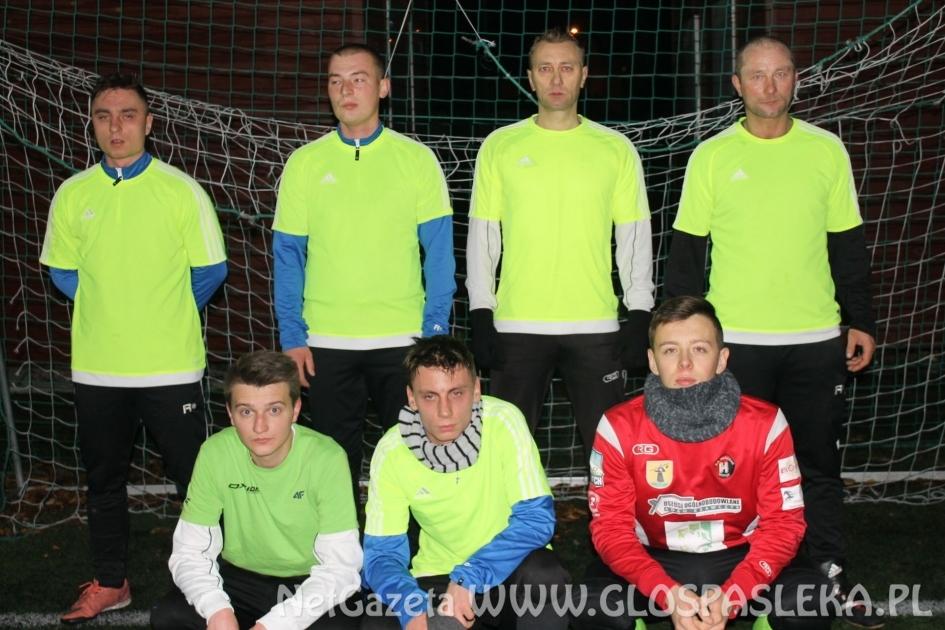 Zimowa Liga Piłki Nożnej - wyniki