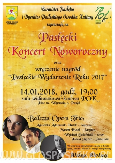 Pasłęcki Koncert Noworoczny