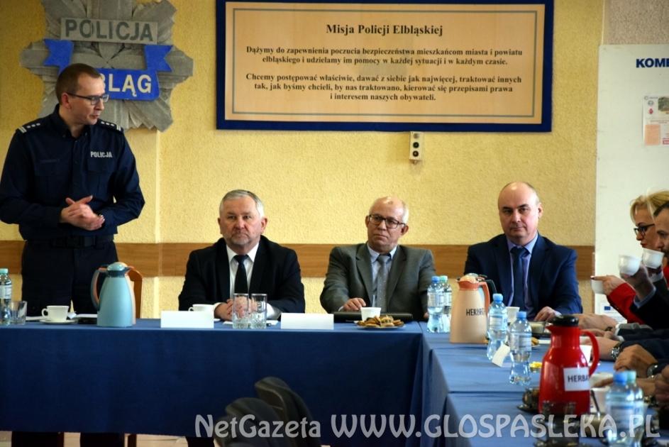 Elbląg: Komendant przedstawił policyjne wyniki za 2017 rok
