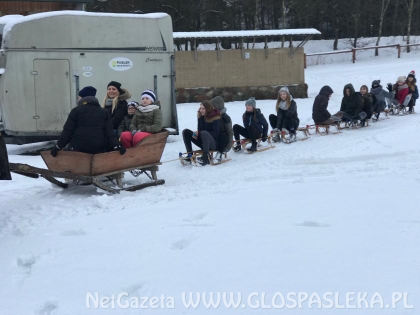 Młodzież skorzystała z uroków zimy