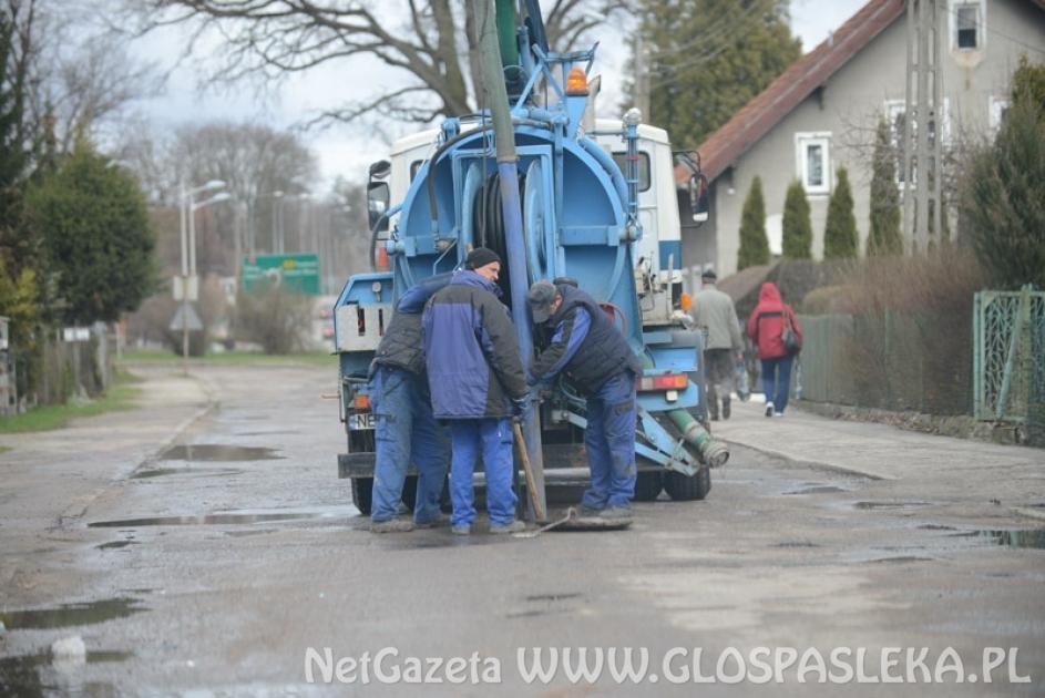 Przetarg na konserwację kanalizacji