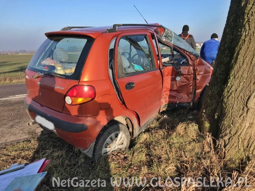 Wypadek w Nowych Kusach