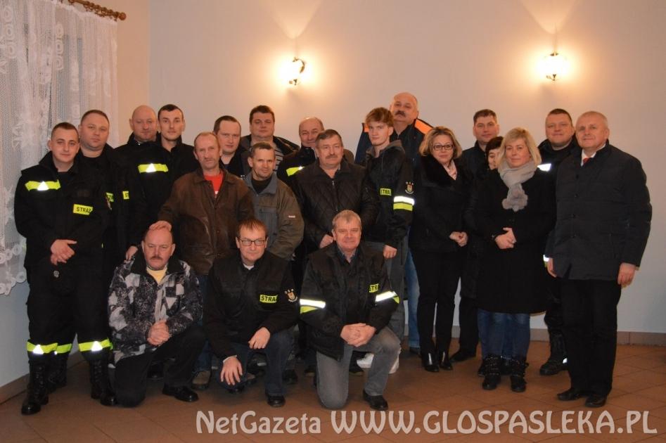 Posiedzenie plenarne w OSP w Borzynowie