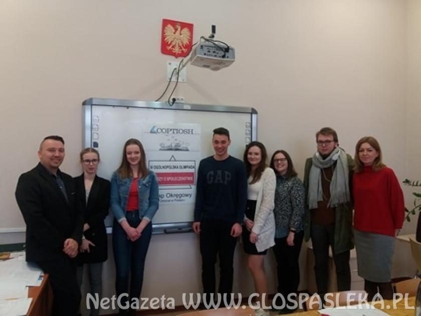 Etap okręgowy III Ogólnopolskiej Olimpiady Wiedzy o Społeczeństwie