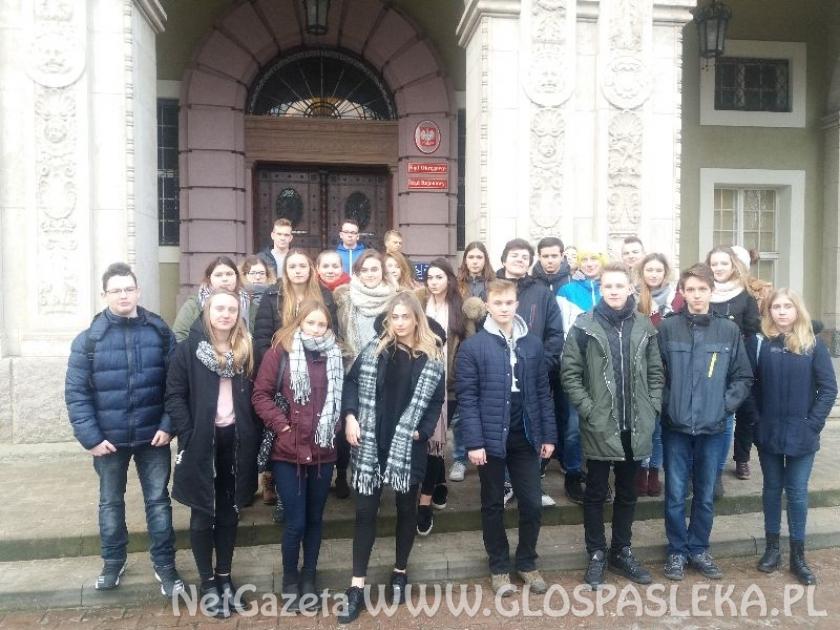 Uczniowie ZS w Sądzie Okręgowym
