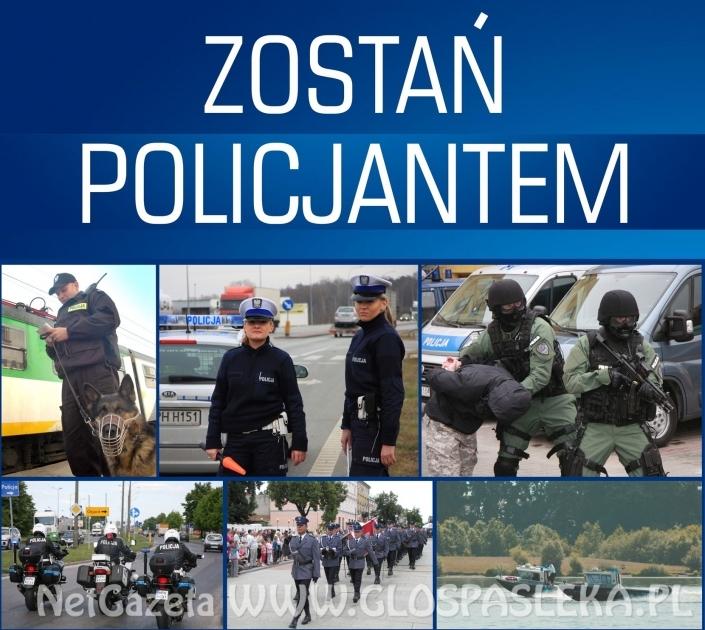 Chcesz zostać policjantem? Zgłoś się do nas