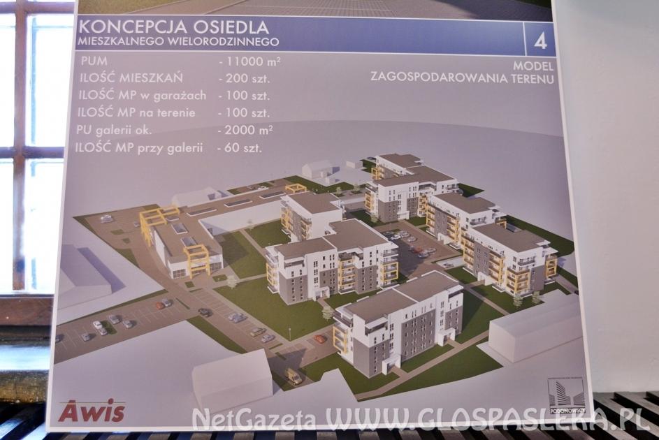 Nowe osiedle już na etapie projektowania
