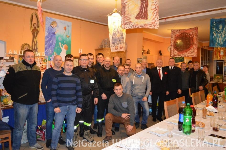 Zebrania sprawozdawcze w OSP w Mariance oraz Aniołowie