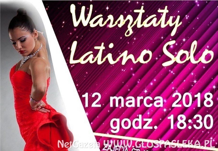 Latino Solo - zaproszenie na warsztaty tańca