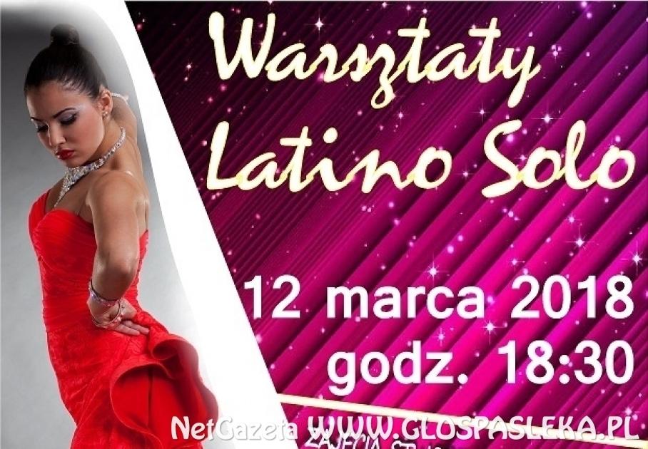 Latino Solo - przyjdź dziś na warsztaty tańca