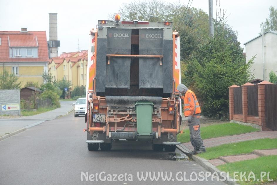 Odbioru odpadów komunalnych w okresie poświątecznym