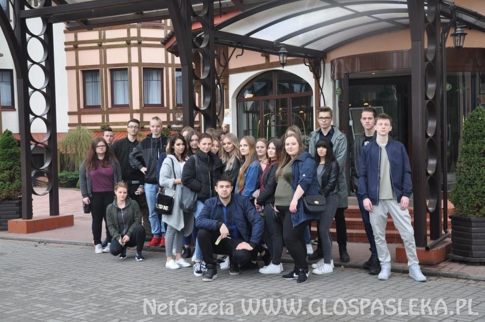 Uczniowie ZS z wizytą w Hotelu Anders