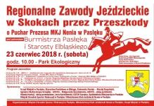Zaproszenie na zawody konne