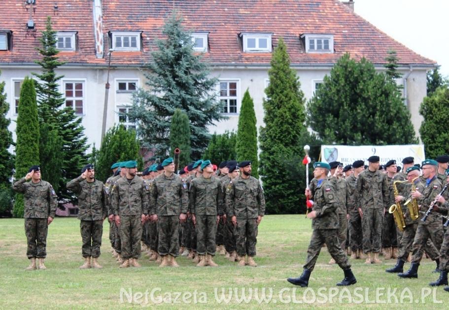 Powitanie żołnierzy z udziałem ZSEiT