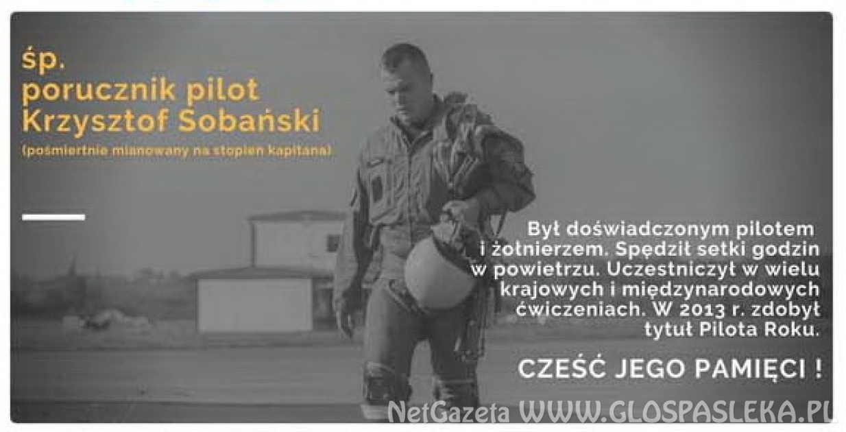 Pogrzeb pilota