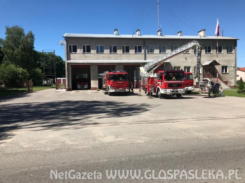 Mieszkańcy dziękują strażakom