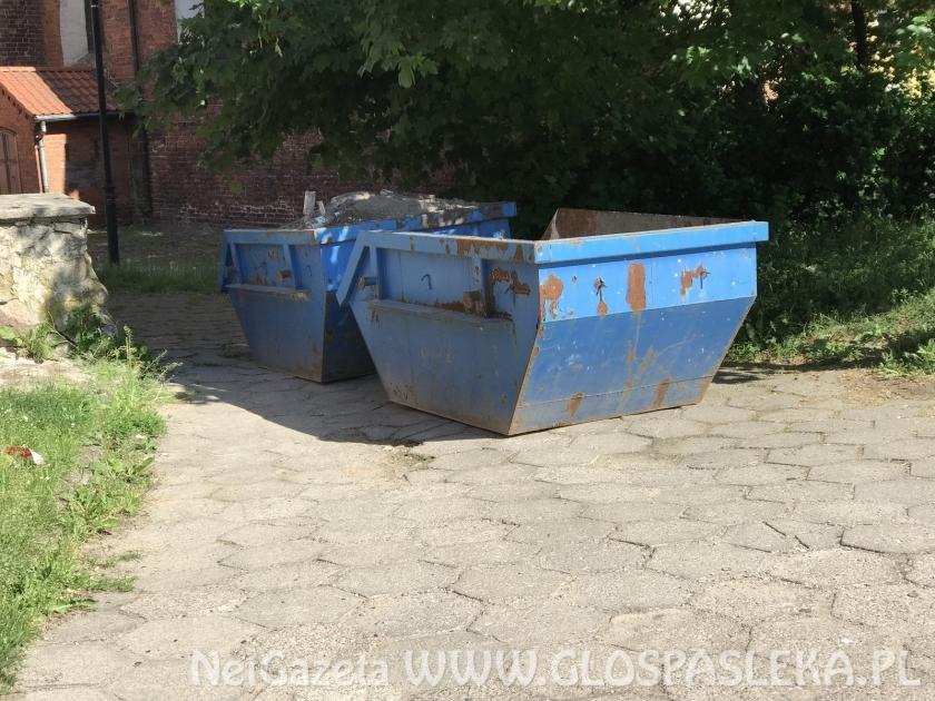 Odbiór odpadów budowlanych i rozbiórkowych na terenie miasta Pasłęk