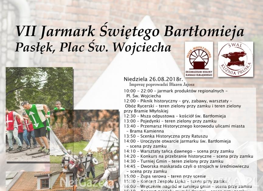 Okolicznościowe upominki dla uczestników VII Jarmarku św. Bartłomieja