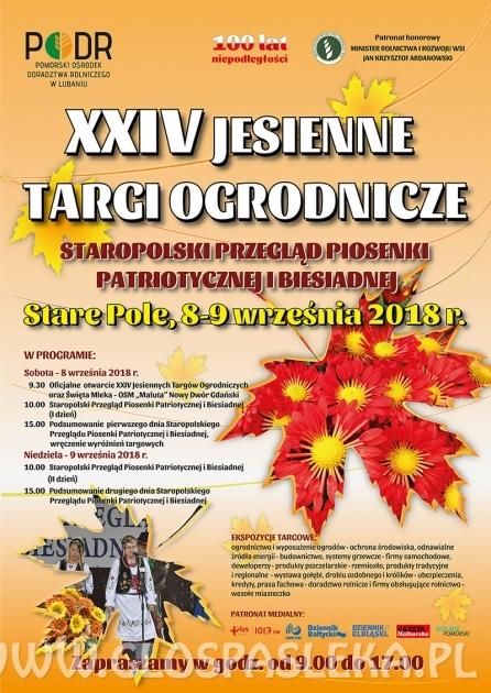 XXIV Jesienne Targi Ogrodnicze w Starym Polu