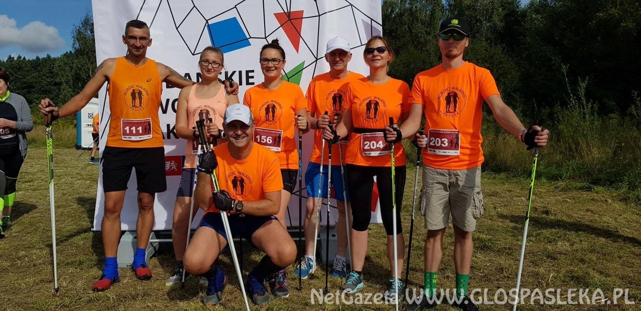 Kijkarze Nordic Walking Pasłęk na kolejnych zawodach