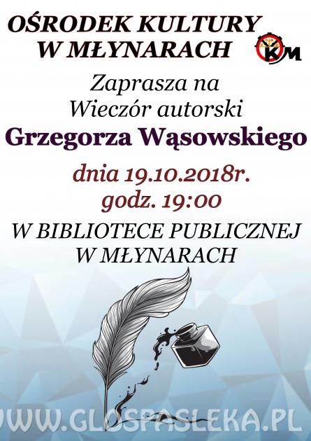 Spotkanie z twórczością ks. Grzegorza Wąsowskiego